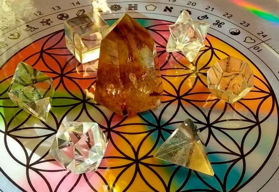 mesa cristais